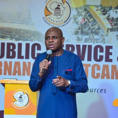 Prof. Kingsley Moghalu, Former Deputy Governor, Central Bank of Nigeria and the YPP 2019 Presidential candidate