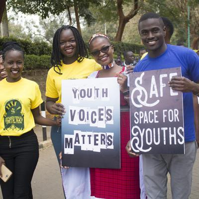 Iyd 2018 Peace Walk Kenya